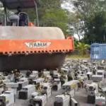 Близько 1000 машин для майнінгу було знищено малайзійською поліцією
