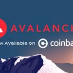 AVAX включений у лістинг криптобіржі Coinbase Pro